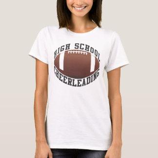 High School Cheerleading Shirt with big Football