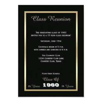 """High School Class Reunion Invite - Any Year Invite 5"""" X 7"""" Invitation Card"""