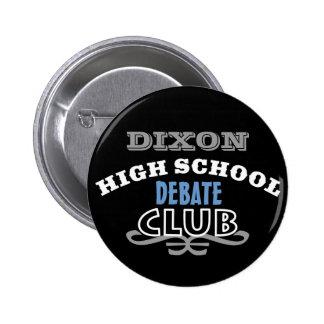 High School Club - Debate 2 Inch Round Button