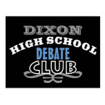 High School Club - Debate Postcard