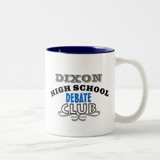 High School Club - Debate Two-Tone Coffee Mug