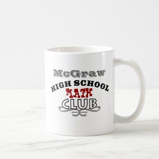 High School Club - Math Classic White Coffee Mug