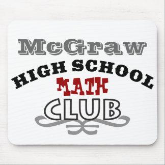 High School Club - Math Mouse Pad