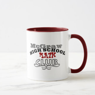 High School Club - Math Mug