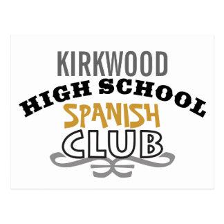 High School Club - Spanish Postcard