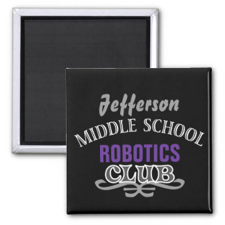 High School Club - Varsity 2 Inch Square Magnet