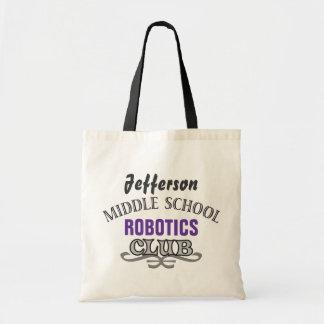 High School Club - Varsity Budget Tote Bag