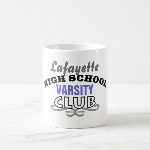 High School Club - Varsity Classic White Coffee Mug