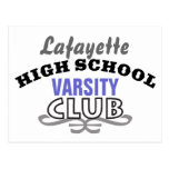 High School Club - Varsity Postcard
