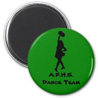 High School dance team gear 2 Inch Round Magnet