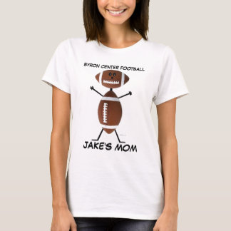 High School Football Cartoon T-Shirt