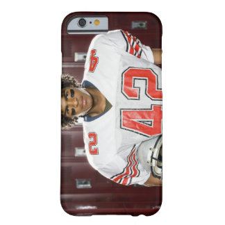 High School football player Barely There iPhone 6 Case