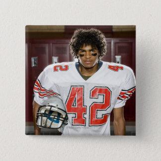 High School football player Button