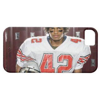 High School football player iPhone 5 Cases