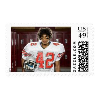 High School football player Postage