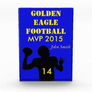 High School football team award MVP