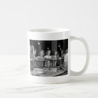 High School Girls, 1940s Coffee Mug