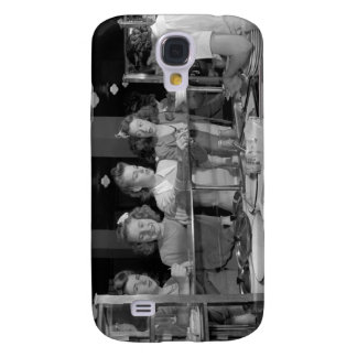 High School Girls, 1940s Galaxy S4 Cover