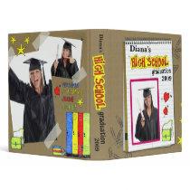 High School Graduation Binder binders