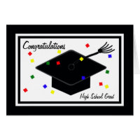 High School Graduation Card