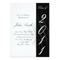 High School Graduation Invitaion Card