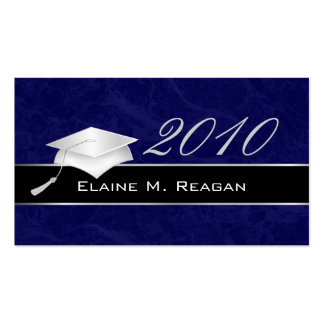 High School Graduation Name Cards - 2010 Business Cards