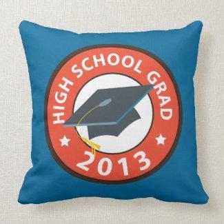High School Graduation Pillows