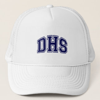 HIGH SCHOOL LETTERS - DHS BLUE TRUCKER HAT