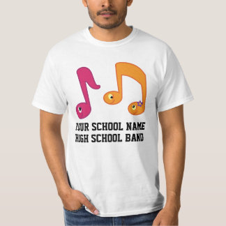 High School Marching Band Personalized Music Shirt