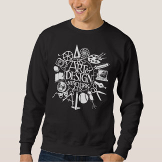 High School of A&D Branded Dark Sweat Shirt