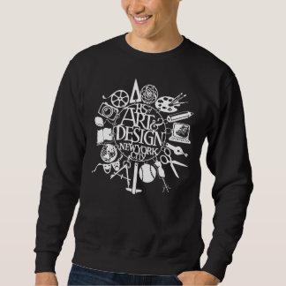 High School of A&D Branded Dark Sweat Shirt