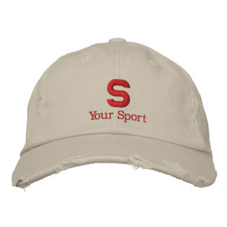 High School Personalized Embroidered Hat