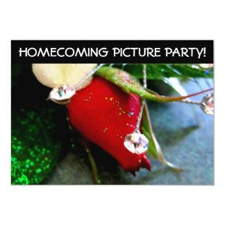 High School Pre Dance Picture Party 5x7 Paper Invitation Card