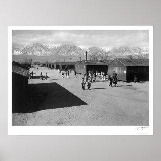 High School Recess Period 1943 Poster