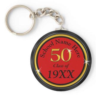 High School Reunion Ideas 50 Years,, Text, Colors Keychain