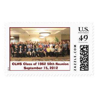 High School Reunion Postage Stamp