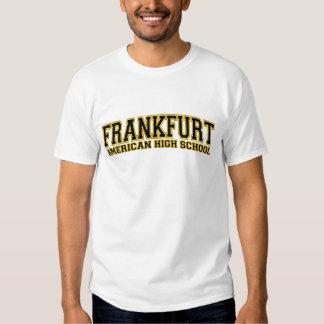 High School secundaria americana de Francfort Playera