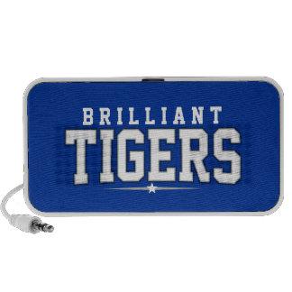 High School secundaria brillante; Tigres Laptop Altavoces