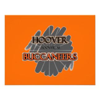 High School secundaria Buccaneers - Hoover AL de Invitación Personalizada