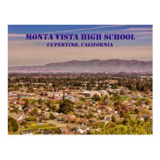 High School secundaria Cupertino, postal de Monta