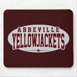 High School secundaria de Abbeville; Yellowjackets Tapetes De Ratones
