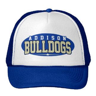 High School secundaria de Addison; Dogos Gorros Bordados