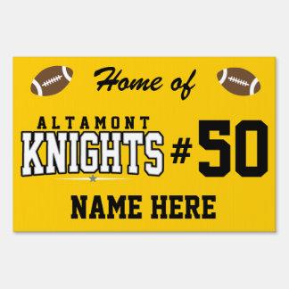 High School secundaria de Altamont; Caballeros Carteles