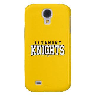High School secundaria de Altamont; Caballeros Funda Samsung S4