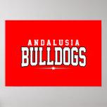 High School secundaria de Andalucía; Dogos Posters