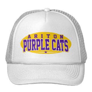 High School secundaria de Ariton; Gatos púrpuras Gorras