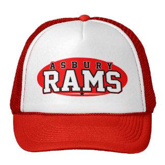 High School secundaria de Asbury; Espolones Gorras De Camionero