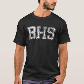 High School secundaria de BHS - vintage, apenado Playera
