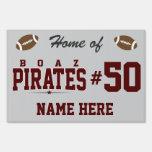 High School secundaria de Boaz; Piratas