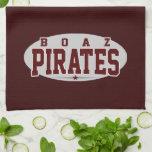 High School secundaria de Boaz; Piratas Toalla De Cocina